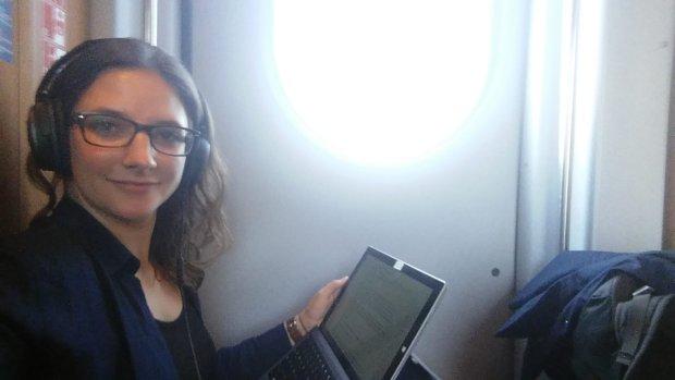 Leonie Müller - niemiecka studentka, która od czterech miesięcy mieszka w pociągu