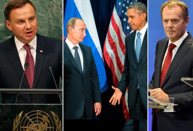 Prezydent Duda w Nowym Jorku na sesji ONZ spotkał się m.in. prezydentem Obamą. Z prezydentem Rosji wymienił uścisk dłoni
