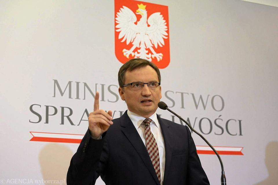 Minister sprawiedliwości - prokurator generalny w rządzie PiS Zbigniew Ziobro