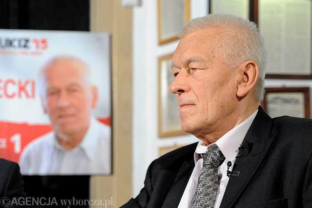 Kornel Morawiecki, poseł z listy Kukiza, komentował wypowiedzi Antoniego Macierewicza w sprawie katastrofy smoleńskiej