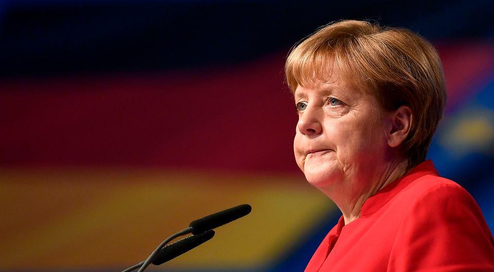 Angela Merkel zapowiedziała na kongresie CDU zwrot w prawo