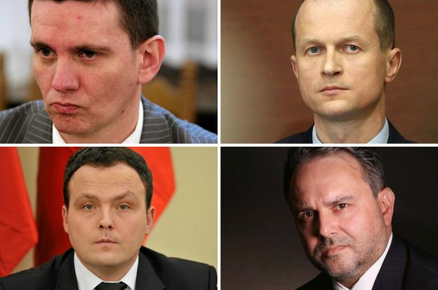 Piotr Bączek, Piotr Bączek, Piotr Pogonowski, Płk Grzegorz Małecki
