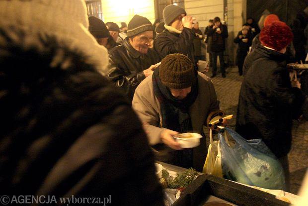 Lublin, grudzień 2013 r. Wigilia Starego Miasta organizowana przez dominikanów