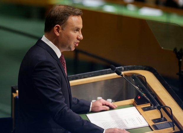 Andrzej Duda przemawia w ONZ