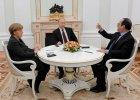 Stempin: Pokój zamiast broni - dyplomatyczna ofensywa Merkel i Hollande'a