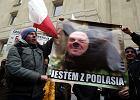 Miało być 100 tysięcy rolników, było 200. Marsz gwiaździsty na Warszawę mniejszy niż zapowiadano