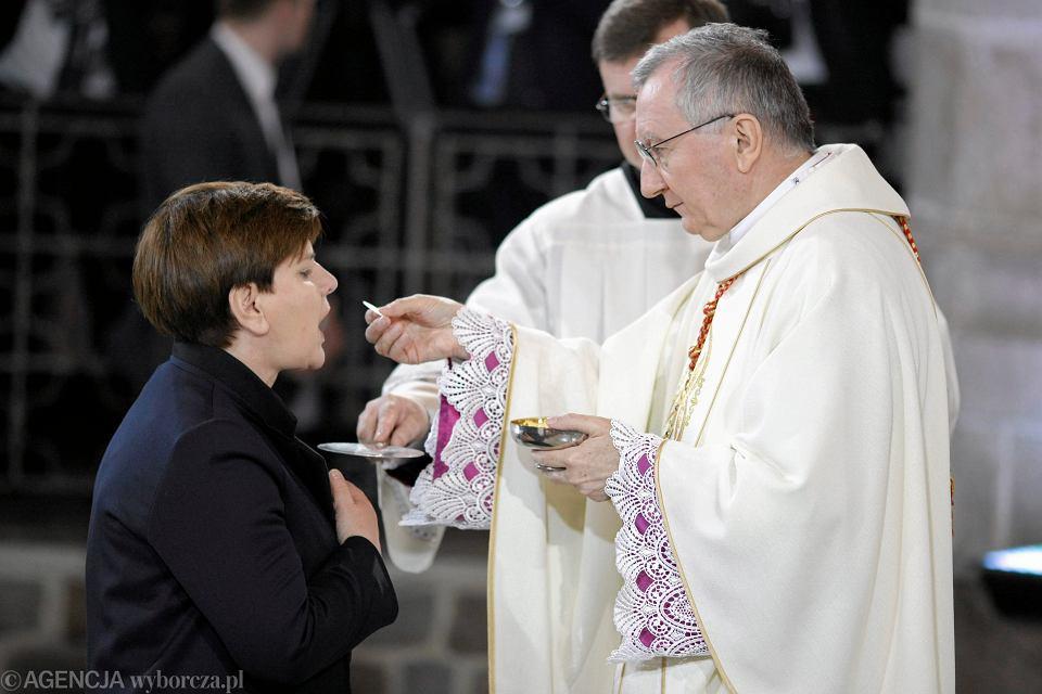 Uroczysta msza z okazji 1050 - tej rocznicy Chrztu Polski