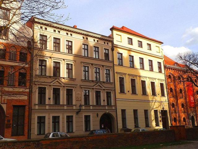 Toruńska Kuria Diecezjalna przy ul. Łaziennej