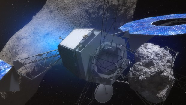 NASA ogłosiła plan przechwycenia asteroidy i umieszczenia jej na orbicie Księżyca.
