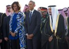 Michelle Obama bez chusty w Arabii Saudyjskiej