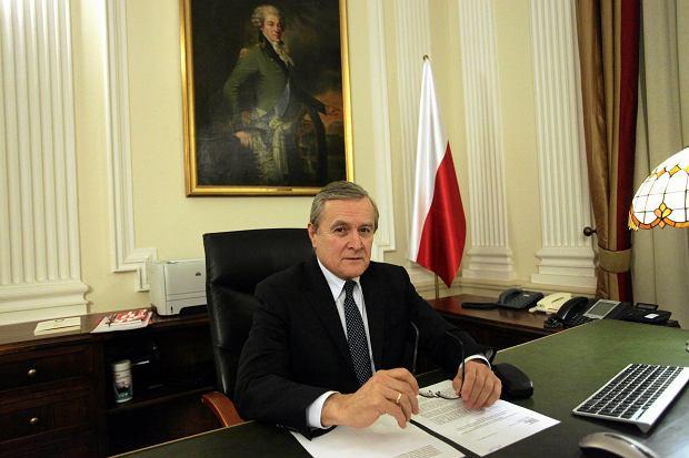 Wicepremier, minister kultury Piotr Gliński
