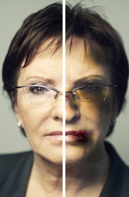 Ewa Kopacz na plakacie kampanii Twojego Ruchu