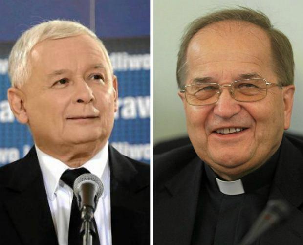 Jarosław Kaczyński, o. Tadeusz Rydzyk