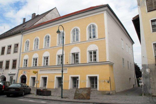 Dom w Braunau - miejsce urodzenia Adolfa Hitlera
