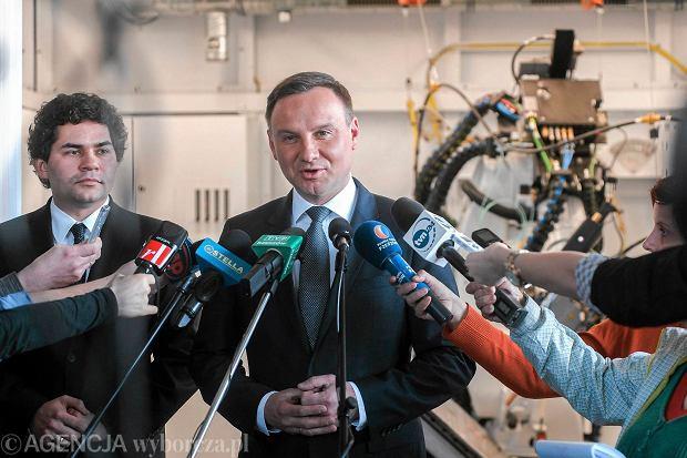 Andrzej Duda, kandydat PiS na prezydenta RP z wizytą w Stalowej Woli.
