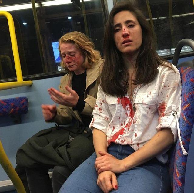 28-letnia Melania i jej partnerka zaatakowane w londyńskim autobusie