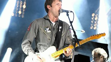 James Blunt on the stage of the Wromantic festival, 2014