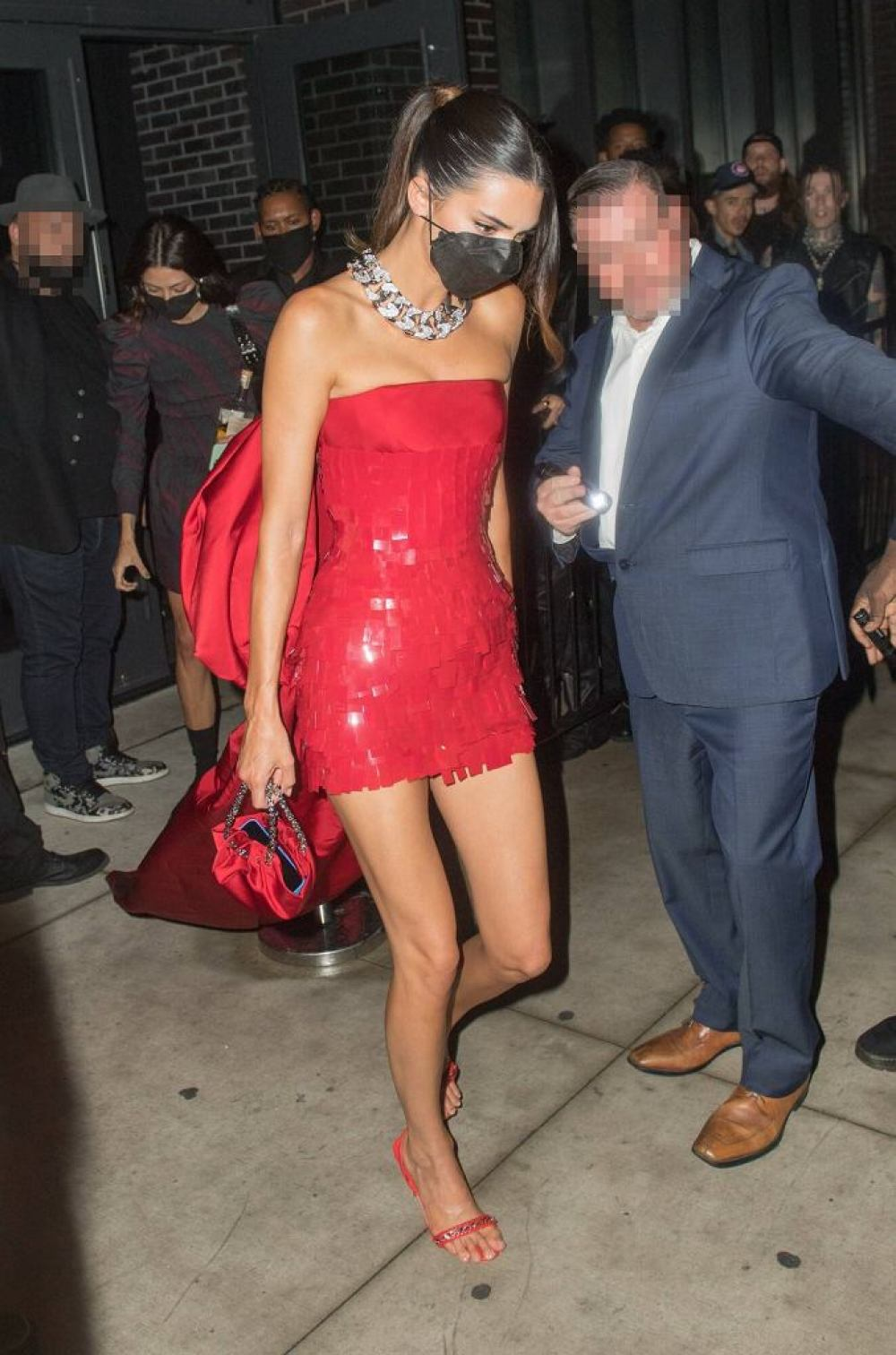 Kendall Jenner at the 2021 Met Gala afterparty