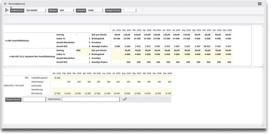 Personalmanagement und Personalplanung mit Kapazitätsplanung mit Dynamics 365 Business Central