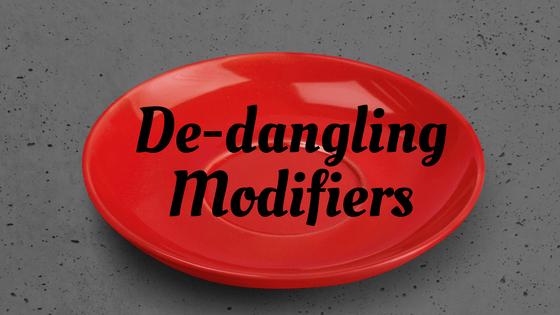 De Dangling Modifiers