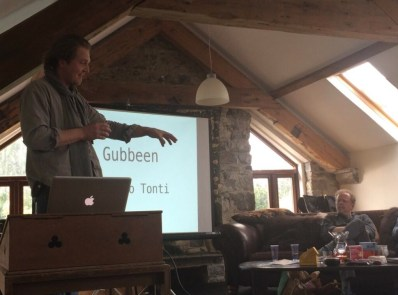 Fingal explains his family and the dynamic of the Gubbeen brand