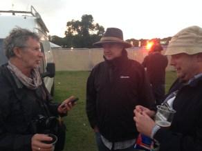 Food conversations with Kevin, Hugh and Joe McNamee