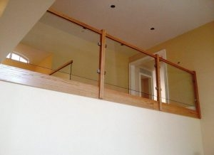 Steel And Glass Stair Railing — Biaf Home Design | Glass Staircase Near Me | Baluster | Spiral Staircase Design | Stair Treads | Frameless Glass | Staircase Railings