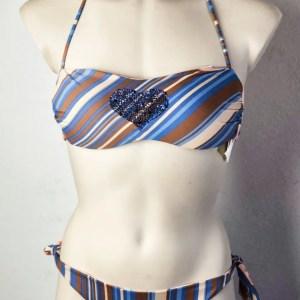 twinset bikini fascia cuore fronte