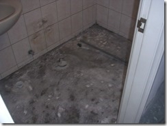 施工中案管埋設素地清潔