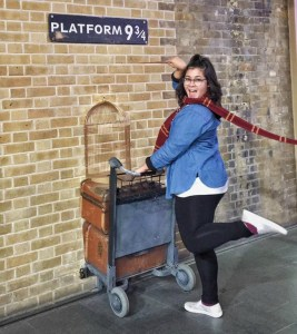 Harry Potter platform Kings Cross stations