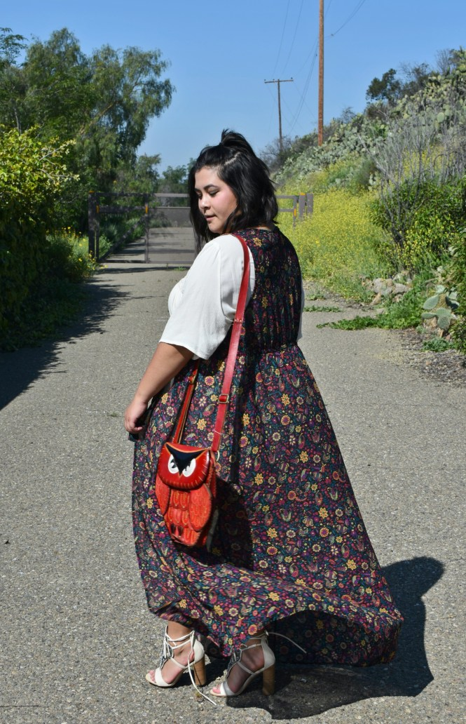 Coachella plus size floral duster