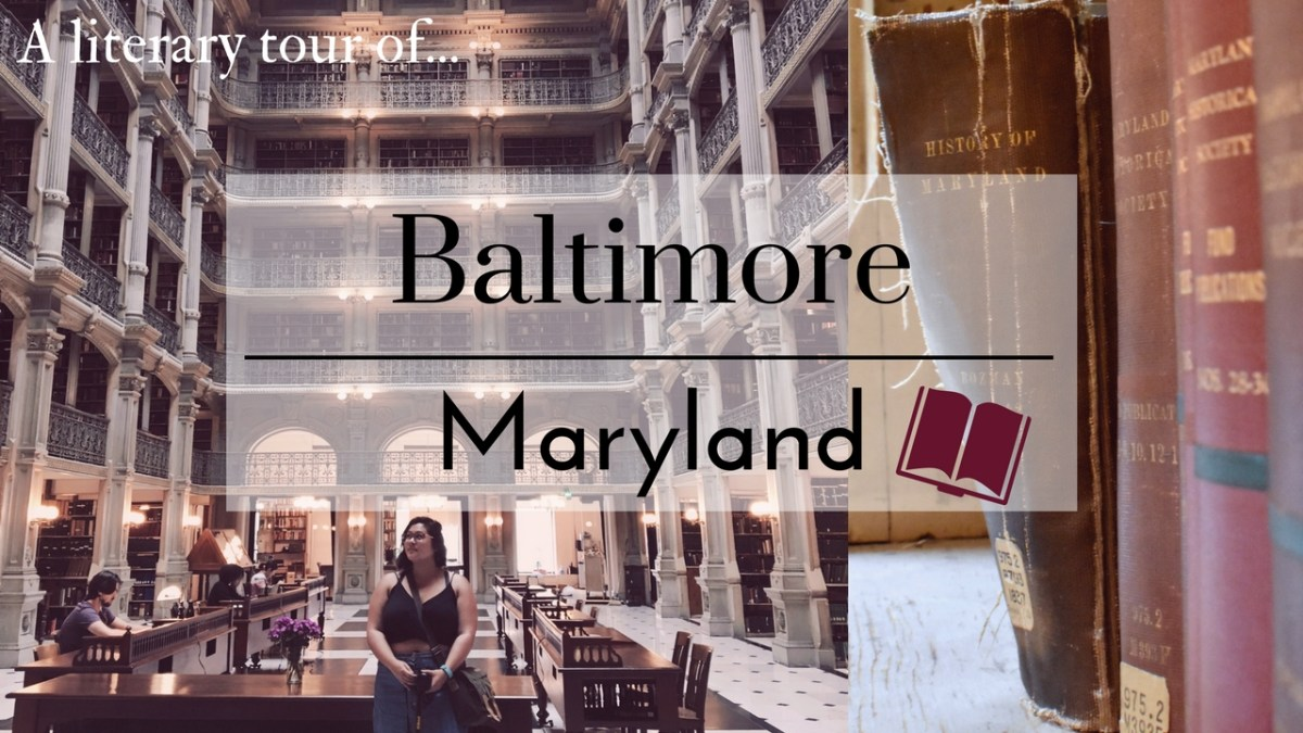 Literary Baltimore; 2 Days in Charm City