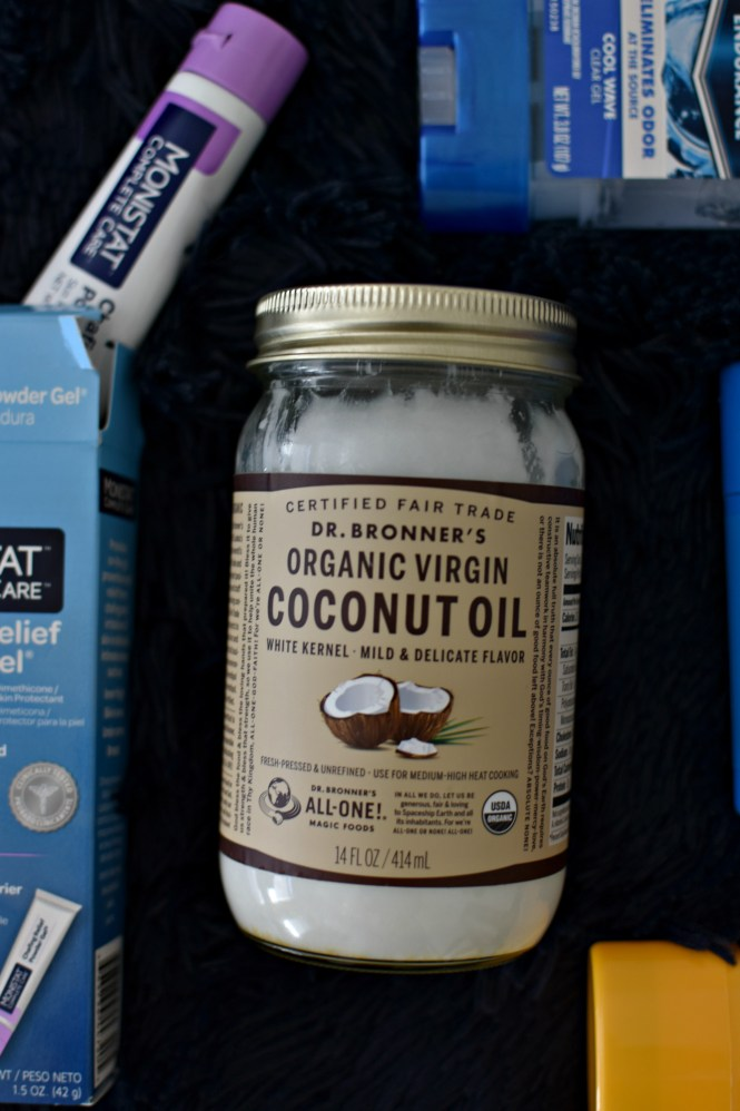Prevent chub rub with coconut oil