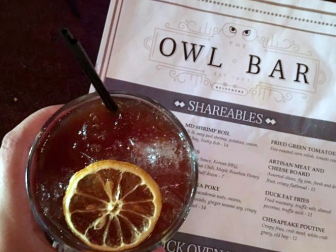 Owl Bar Baltimore