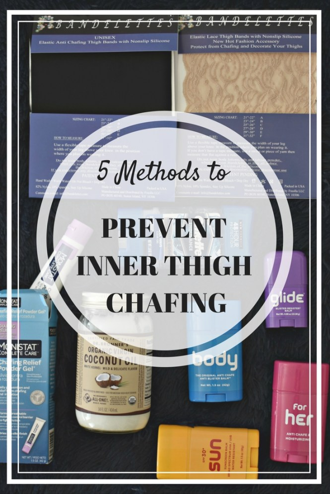 Protect inn thighs from chafing