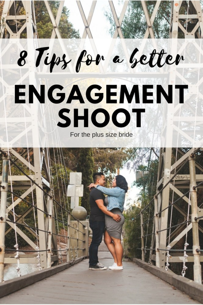Tips for plus size engagement photoshoot