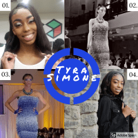 "The HUB Magazine spotlights ""SuperModel Tyra Simone..."""