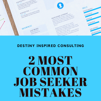 2 Most Common Job Seeker Mistakes