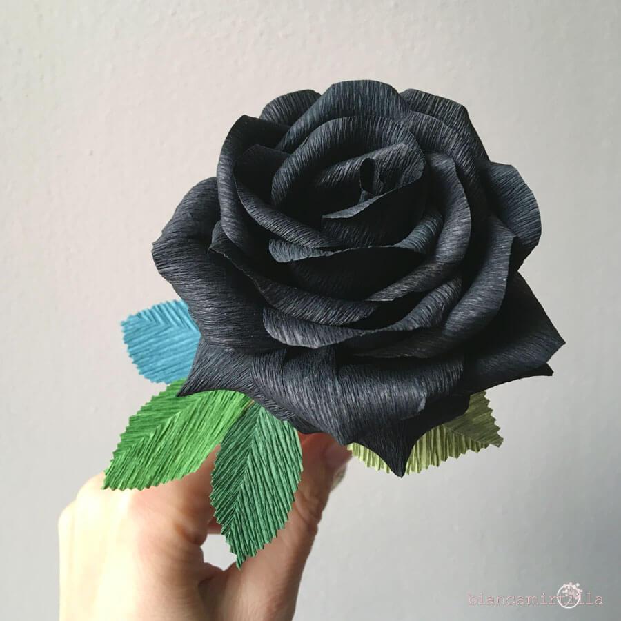 Rose Nere Per Una Festa Dark Biancamirtilla