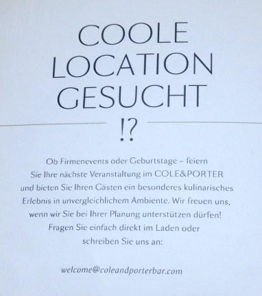 Cole & Porter - Bar in der Hofstatt - Sendlinger Straße - Restaurant München - Bar München - 23