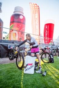 last preparations on the bike © skinfit international