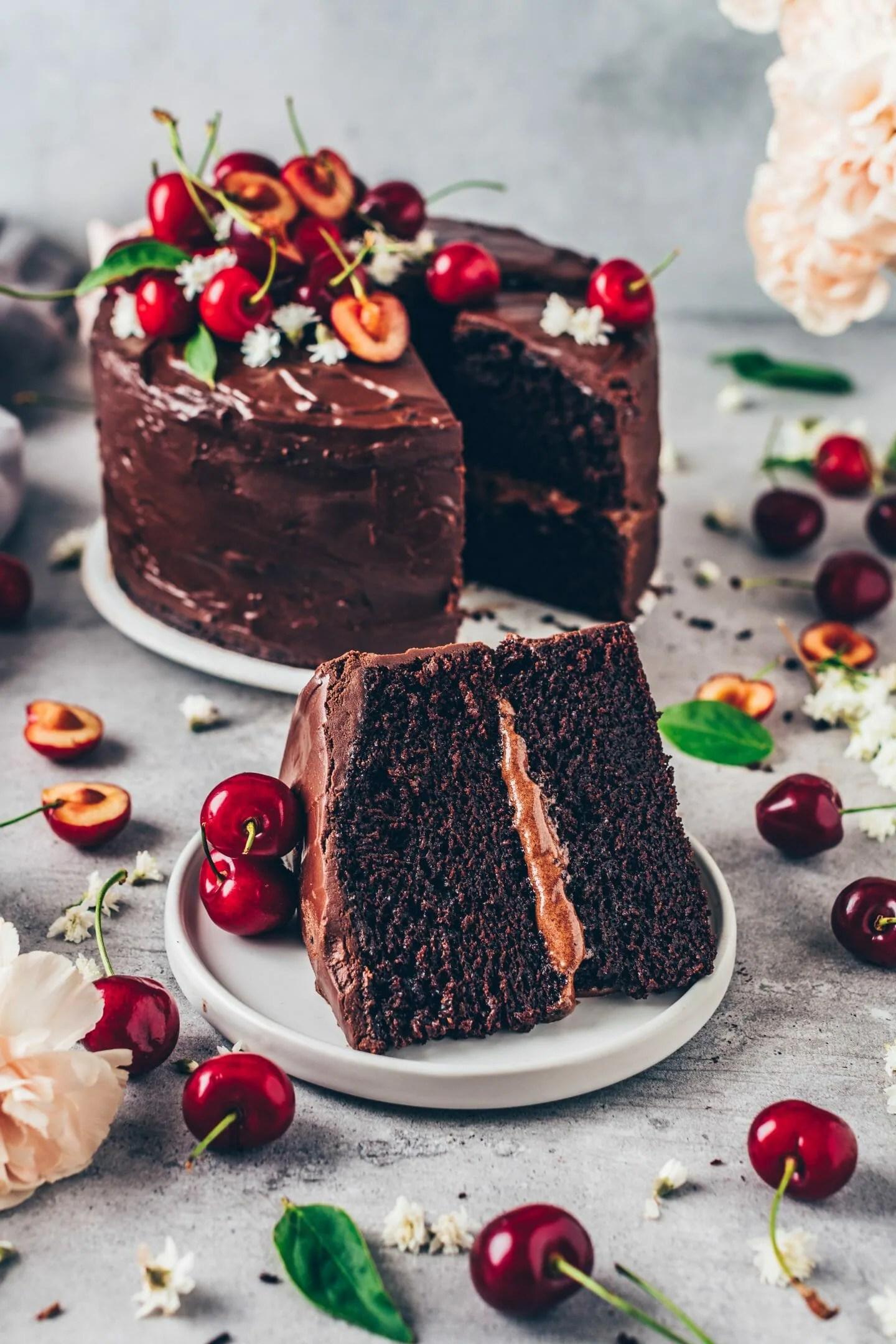 Best Vegan Chocolate Cake Easy Recipe Bianca Zapatka Recipes
