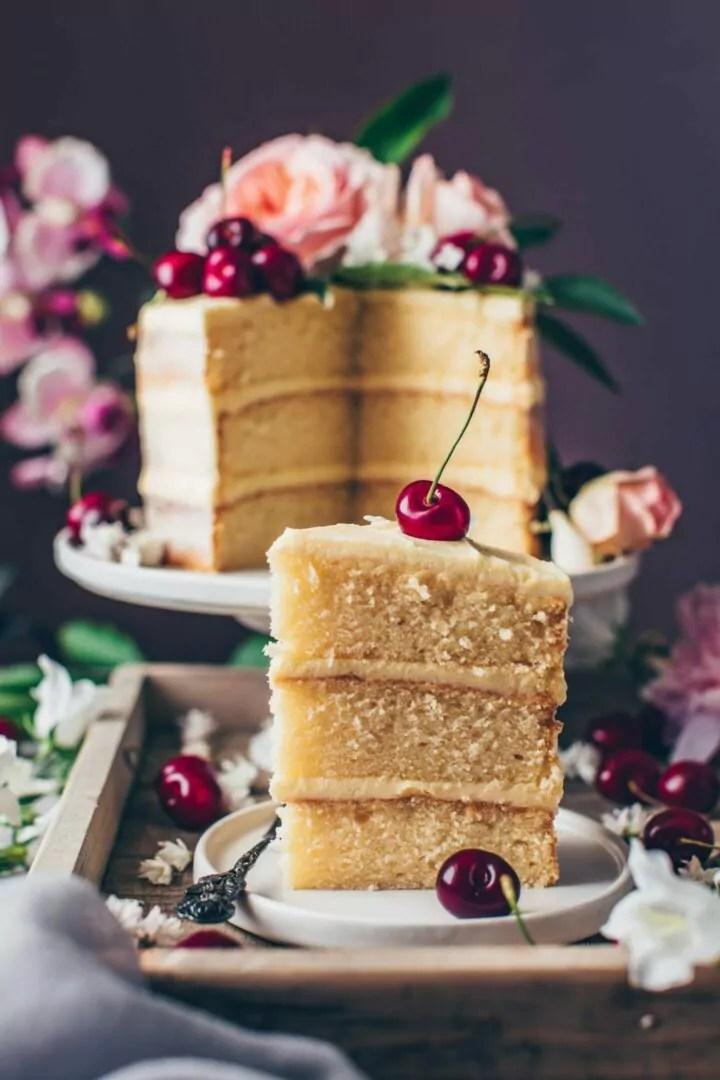 Vegan Vanilla Cake Recipe Bianca Zapatka Recipes