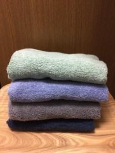 ふわふわタオル 洗濯方法