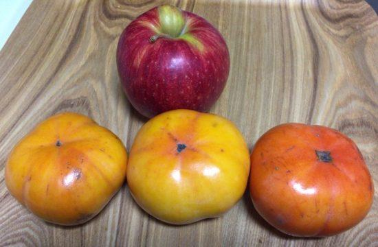 固い柿を柔らかくする方法画像