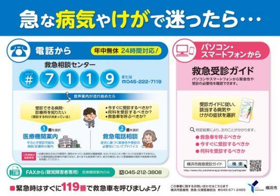 横浜市救急医療画像