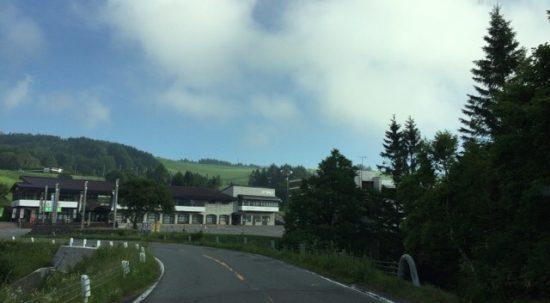 車山高原スキー場駐車場写真画像