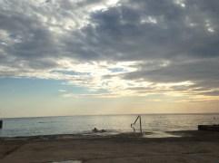 porec spiaggia mare spadici