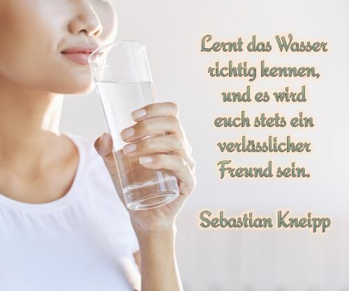 Lernt das Wasser richtig kennen