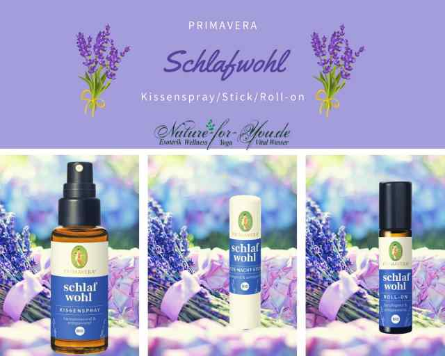 Schlaf Wohl Raumspray Balsam Roll-On im Online Shop von www.nature-for-you.de